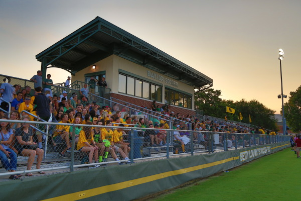 Betty Lou Mays Soccer Field is set in the plush backdrop of the Brazos River on University Parks Drive. The field is part of the Jim and Julie Turner Riverfront Athletic Complex, which includes Baylor Ballpark, Getterman Stadium and the Hurd Tennis Center.