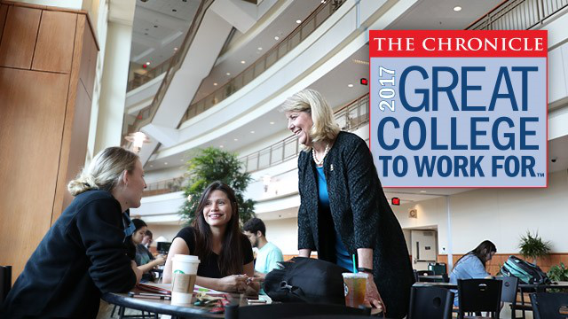 Baylor University Named a '2017 Great College to Work For' by The Chronicle of Higher Education