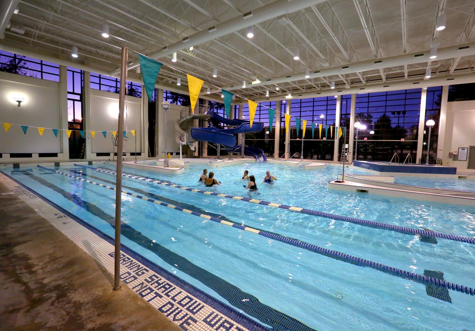 Student Life Center pool