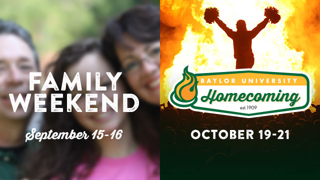 Family Weekend and Homecoming Tickets on Sale August 1
