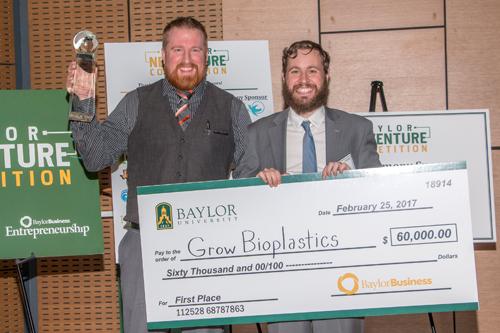 2017 NVC Winner - Grow Bioplastics