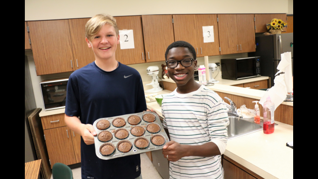 Project Promise cupcakes