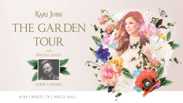 Kari Jobe Garden Tour graphic