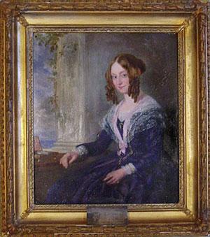 Elizabeth Barrett Browning Portrait