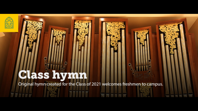 Baylor Freshmen Welcomed to Campus with a Hymn Written for Them