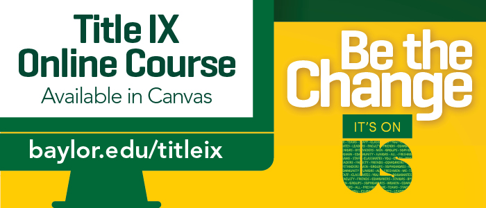 Banner: Title IX 2017-2018