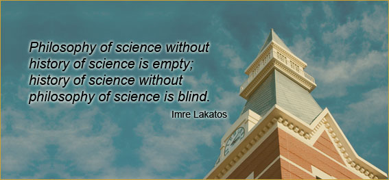 Banner with a quote on philosophy