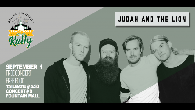 Traditions Rally graphic Judah & the Lion