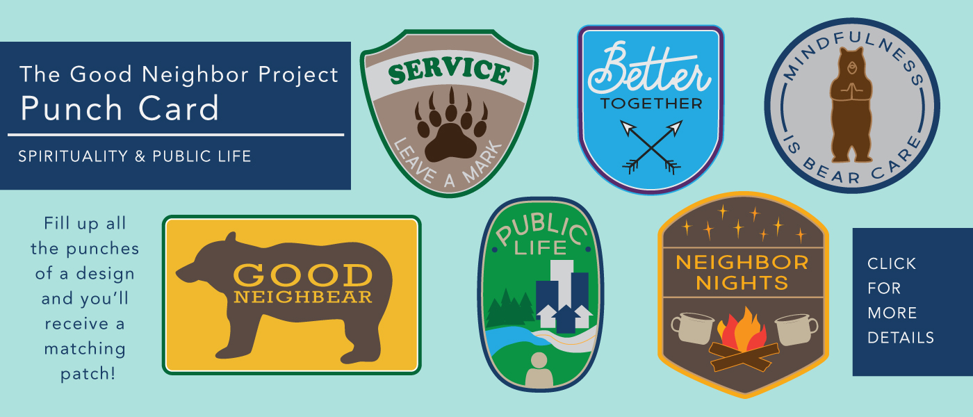 Good Neighbor Project_Punch Card