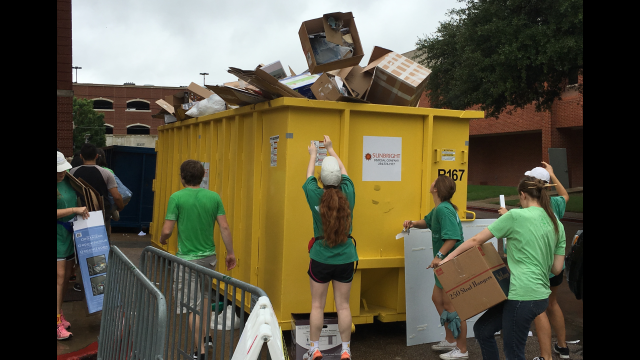 Move in recycling