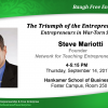 Nationally Renowned Expert to Discuss Role of Entrepreneurs in War-Torn Societies