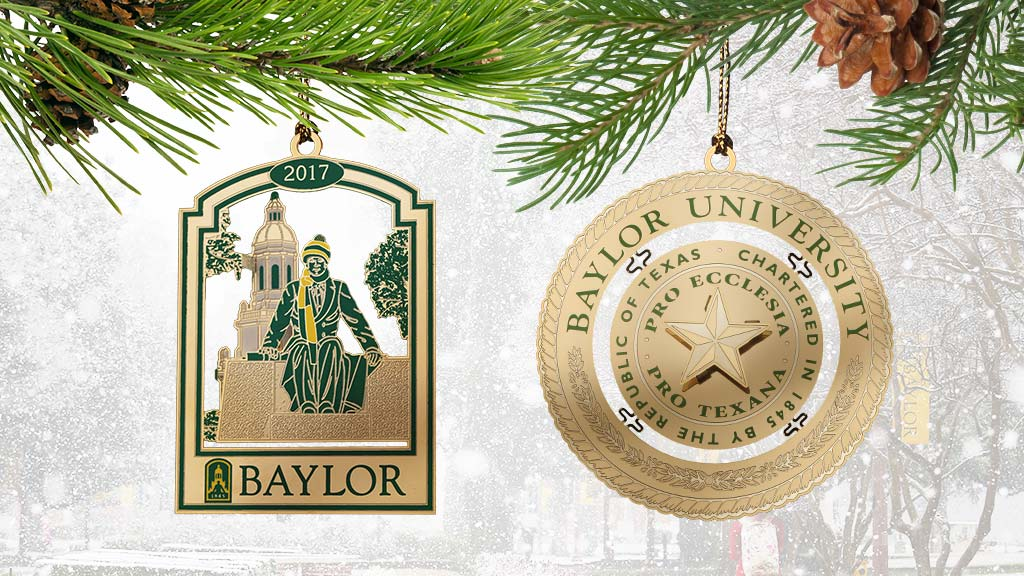 Baylor Traditions Ornaments