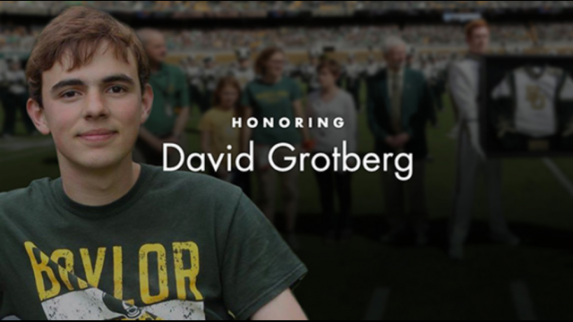 Matching Donations for the David Grotberg Endowed Scholarship Fund