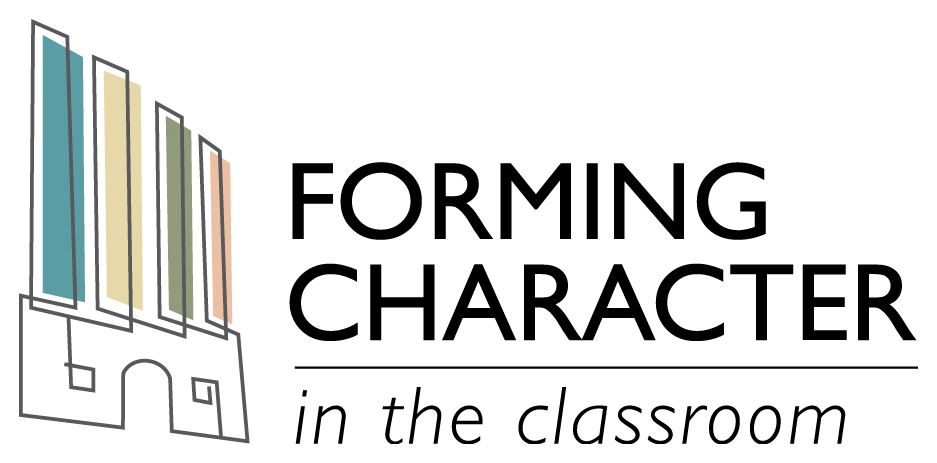 Banner Announcing Forming Character in the Classroom