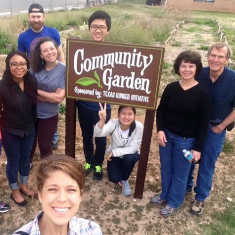 americorps VISTA in a community garden
