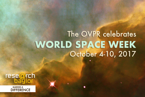 World Space Week - News Feature