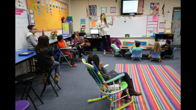 Rachel Vaughn classroom