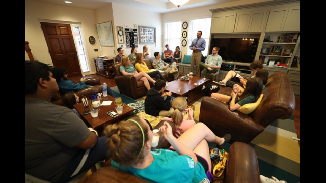 Faculty-In-Residence Program Benefits Students, Faculty and Baylor University