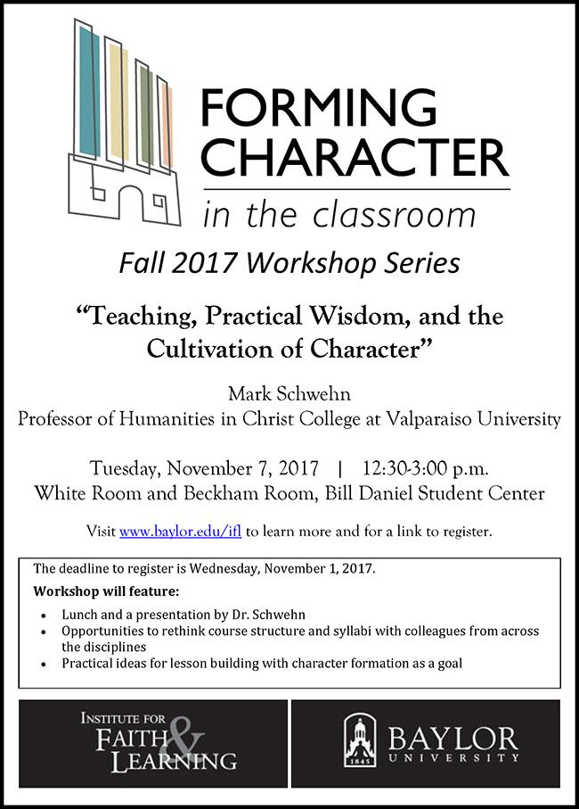 Flyer-IFL Character in Classroom 2017-11-07