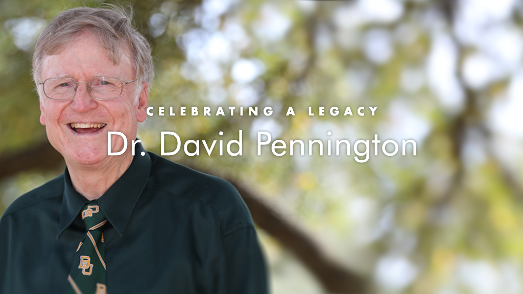 Celebrating Dr. David Pennington