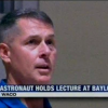 Astronaut holds lecture at Baylor