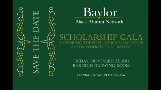 Baylor Black Alumni Network Gala Dinner Honors 'Firsts' and Benefits the Dr. Vivienne Malone-Mayes Scholarship Endowment