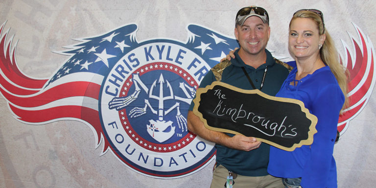 Chris Kyle Frog Foundation Baylor Proud Photo
