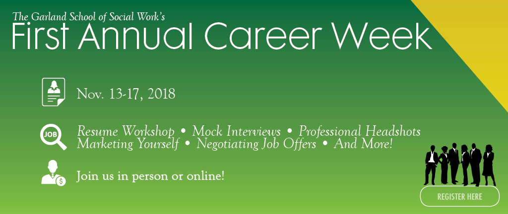 Career Week Homepage Slide