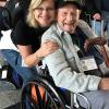 Veterans Day Honor Flight - Dr. Beth Hultquist Guardian to WWII Veteran Louis Metzler
