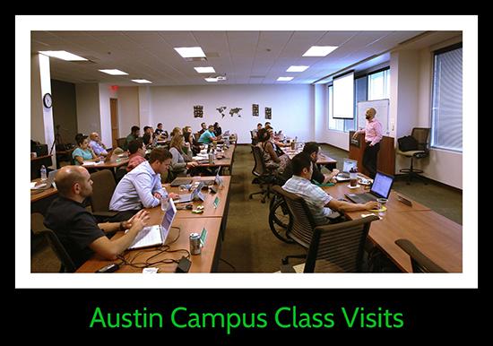 Austin Class Visits