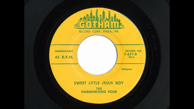 Sweet Little Jesus Boy record