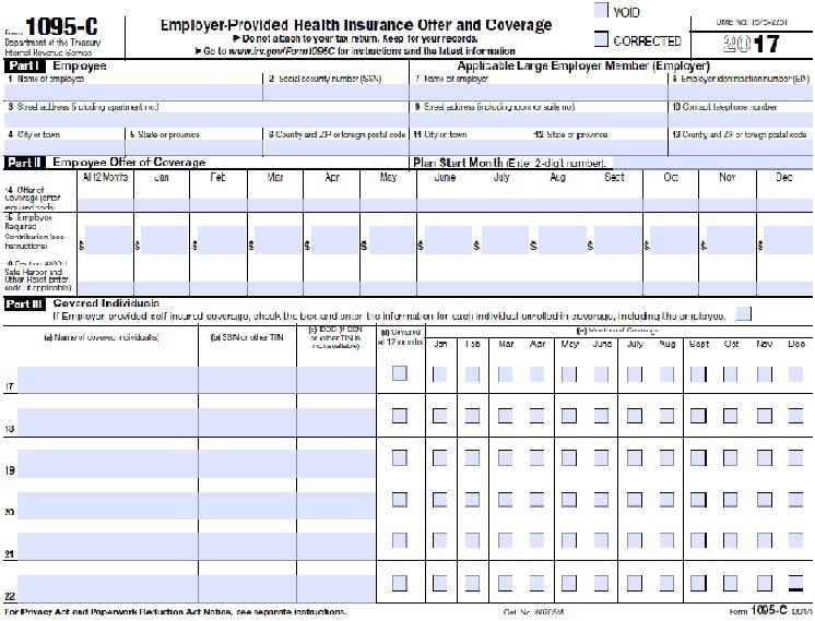 Form 1095 C Payroll Baylor University