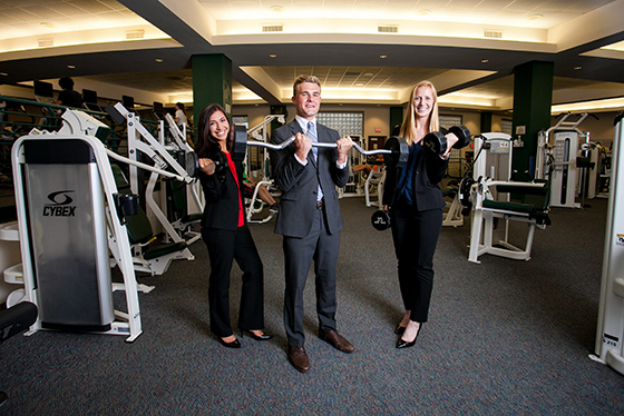 Baylor students keep their mind and physical selves in top condition