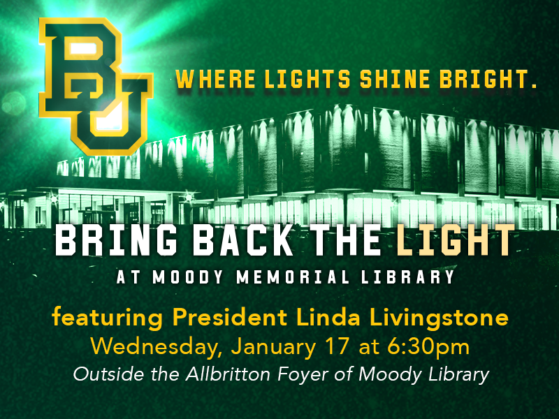 Bring Back the Light to Moody Library