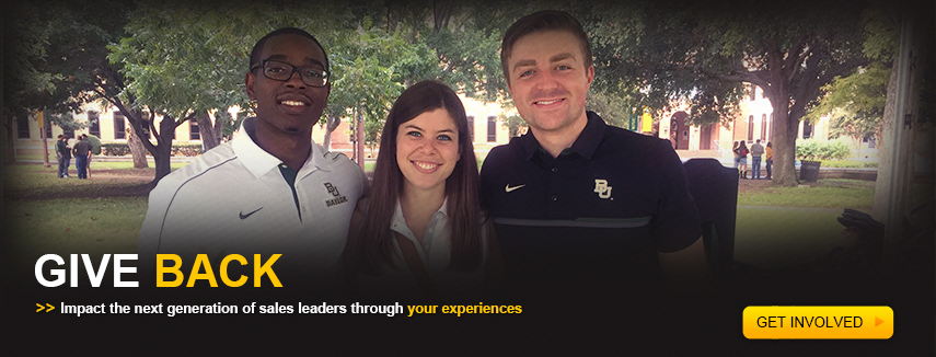 Give Back. Impact the next generation of sales talent through your experience