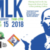 [MLK Day of Service 2018 Graphic]