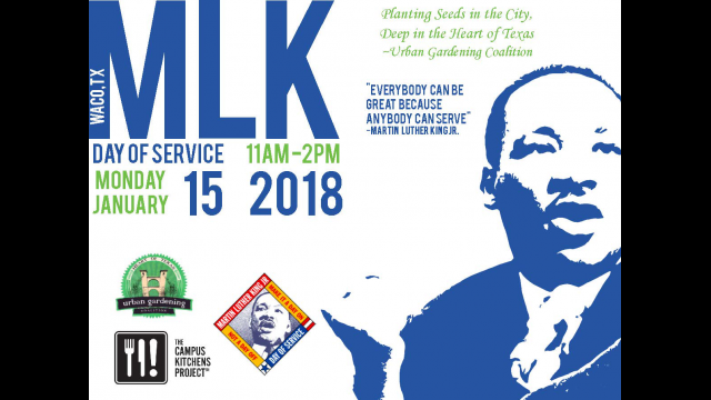MLK Day of Service 2018 Graphic