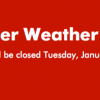 Baylor University Closed Tuesday, Jan. 16, 2018