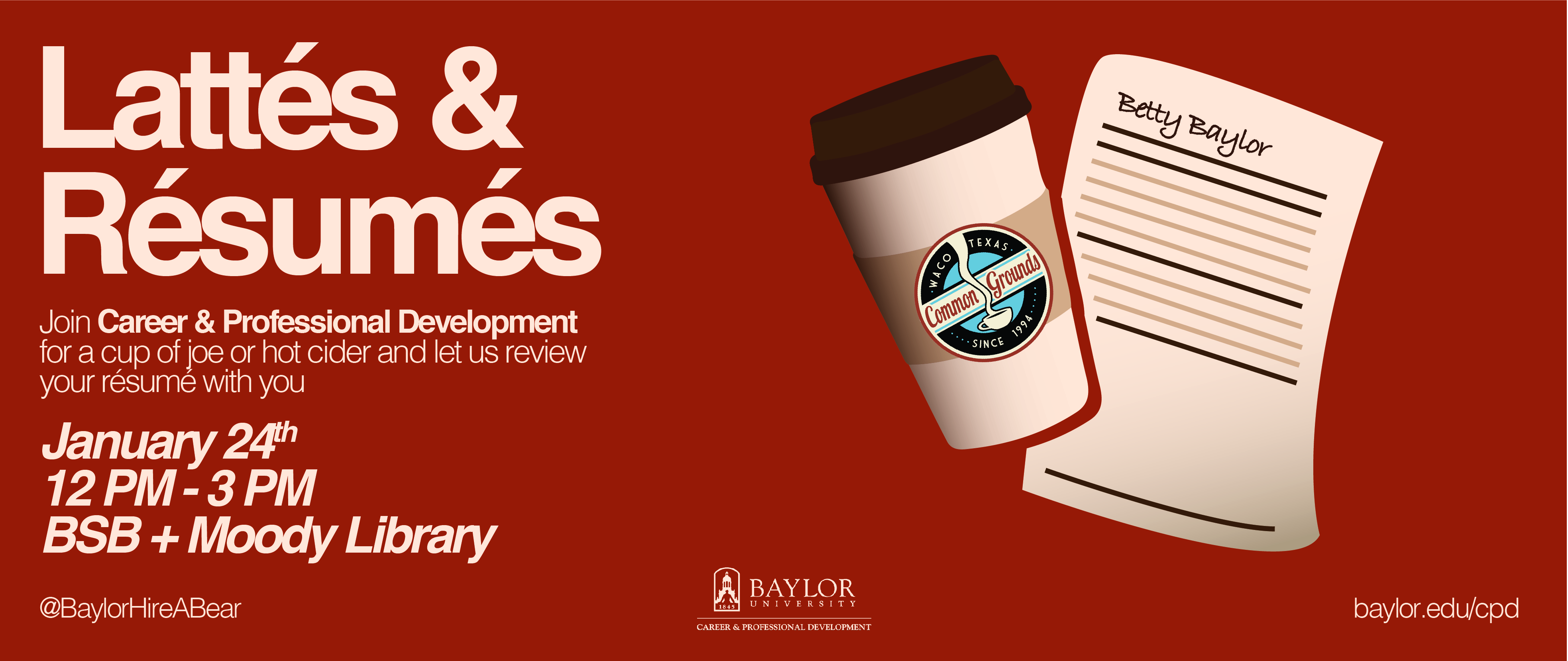 Lattes<br> & Resumes