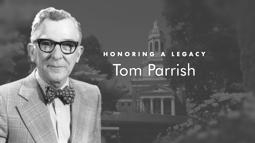 In Memory of Tom Parrish