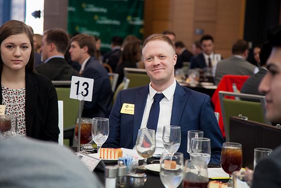 A Satisfied Attendee of Top Gun's Dinner