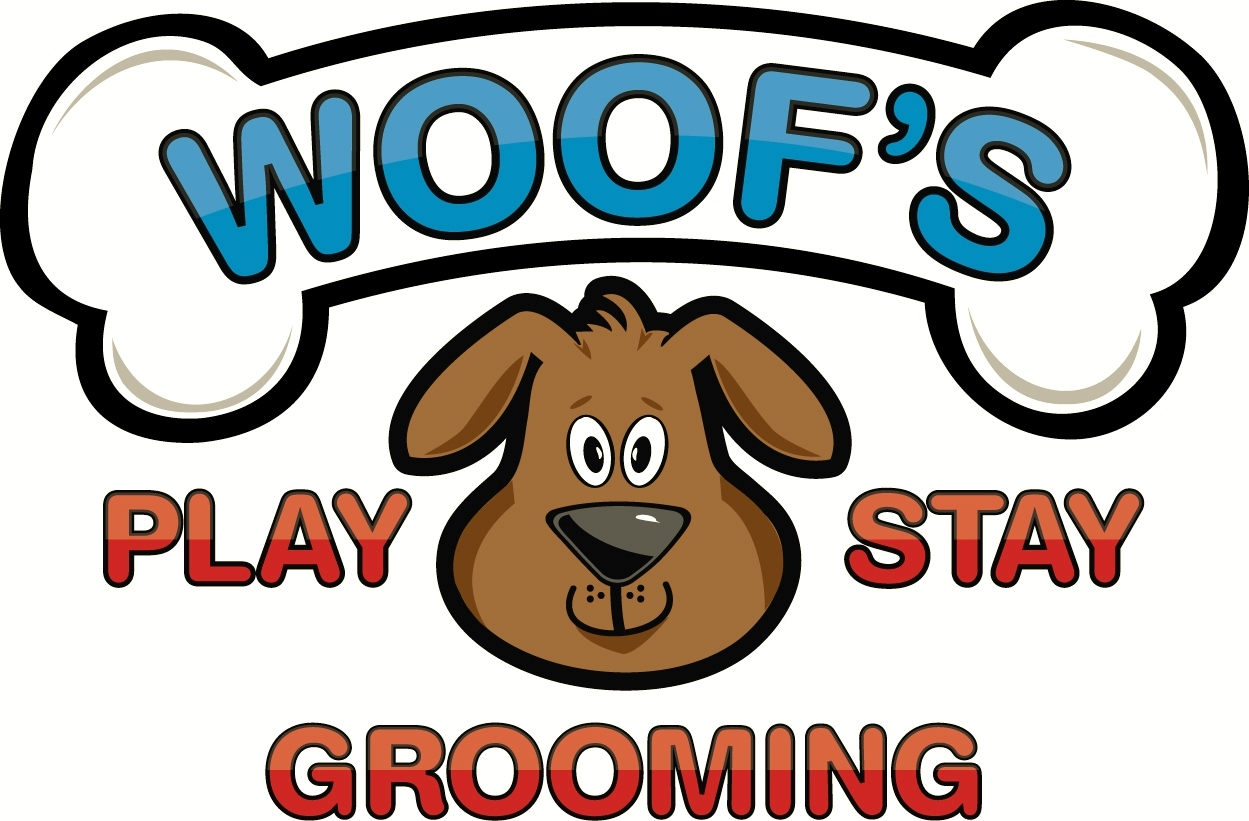 Logo - Woof's Play & Stay