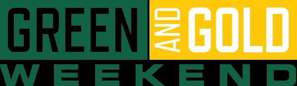 Green & Gold Weekend Logo