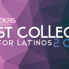 [Latino Leaders Magazing Best College graphic]