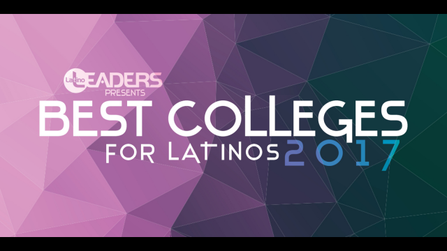 Latino Leaders Magazing Best College graphic
