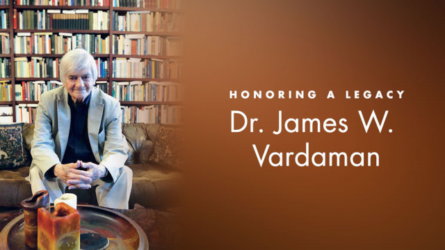 Dr. James Vardaman Memorial Graphic