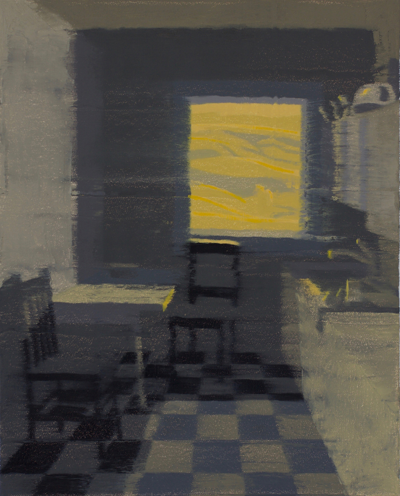 Idaho/Oregon Fiction #7 | 20x16  Oil on Canvas