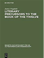 Literary Precursors to the Book of the Twelve Book Cover