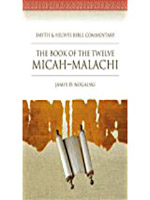The Book of the Twelve Micah Malachi Book Cover