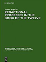 Redactional Processes in the Book of the Twelve Book Cover